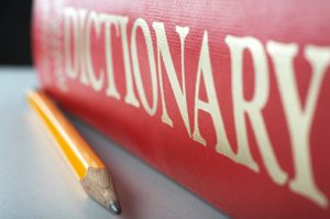 DIctionary-and-pencil